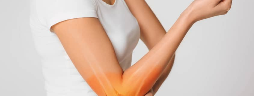 common elbow pain