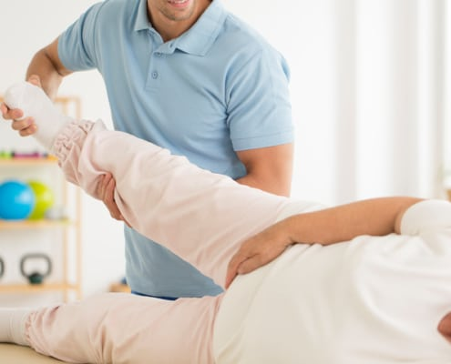 rehab after hip dislocation