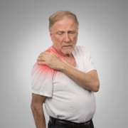 Arthritis causing shoulder pain