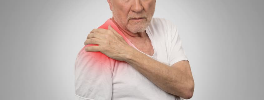 Arthritis causing shoulder pain