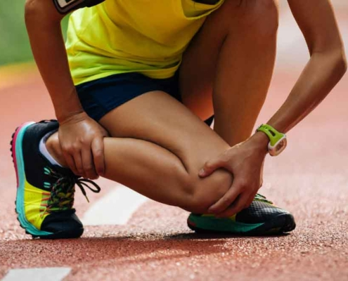 knee pain? could be runners knee.