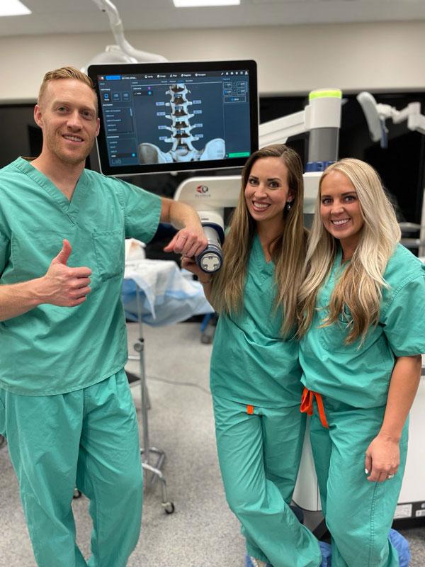 robotic spine surgery